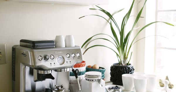 Kitchen styling (rue)- i want a coffee bar.