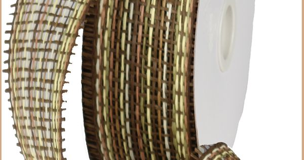 New 2013 2 5 quot x 20 yd woven paper mesh multi brown paper mesh
