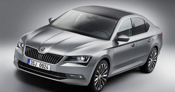 All New Skoda Superb Leaks Out Ahead Of Schedule Skoda Superb Skoda Skoda Auto