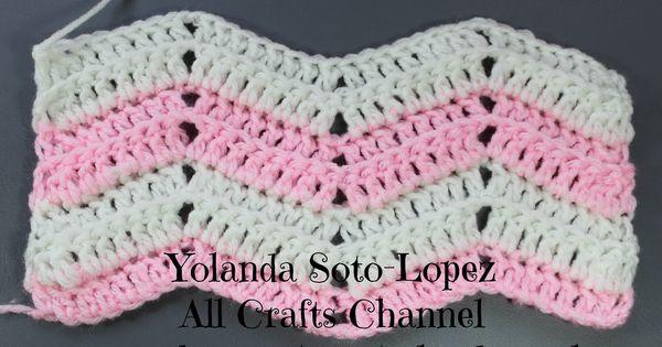 Crochet Ripple Stitch English From Yolandasotolopez