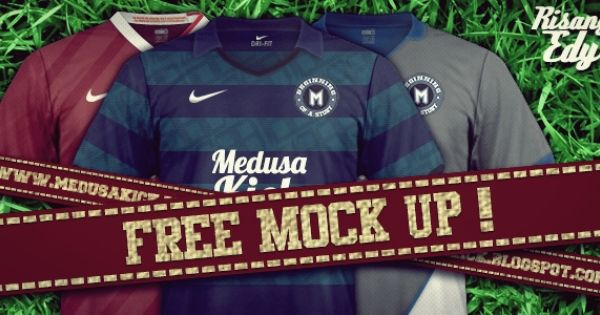 Download Medusakick Mock Up Jersey Nike Desain