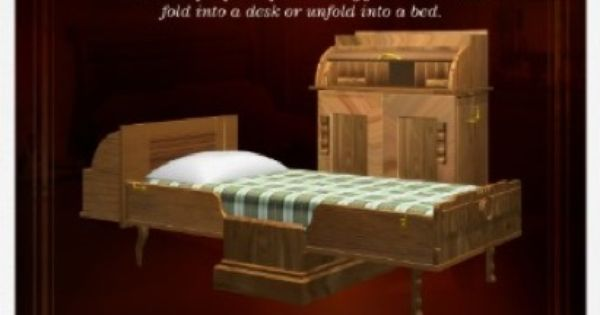sarah e goode s cabinet bed furniture pinterest