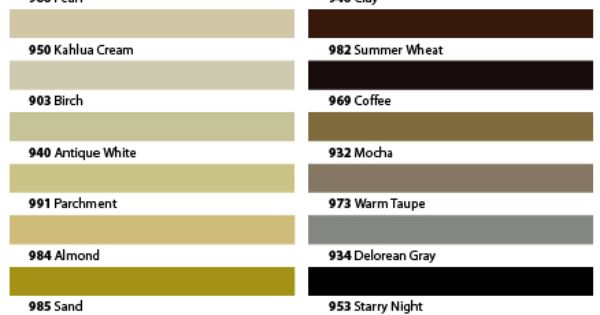 Tec sanded Grout Color Chart Decorating The Yurt