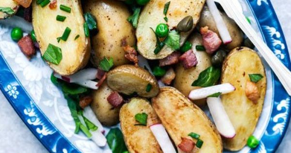 ... Sherry Vinaigrette | Recipe | Fingerling Potatoes, Potato Salad and