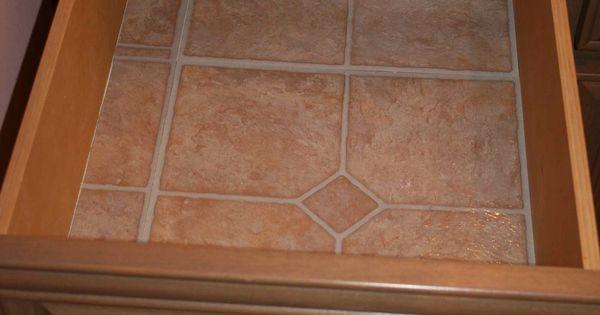 I Use Linoleum Floor Tiles Instead Of Contact Paper To