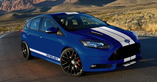 2013 Shelby Focus St Blue White With Images Ford Focus St
