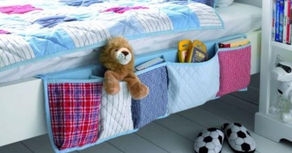 Organizador cama patchwork azul arte pra fazer - Organizador mandos a distancia ...