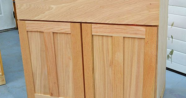 Diy kitchen cabinets step by step woodworking plans for Building kitchen cabinets udo schmidt