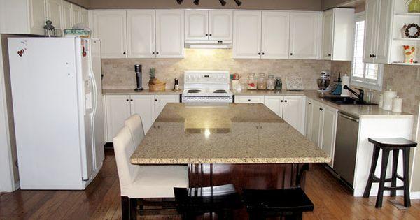 Kitchen configuration and light palette bm timid white for Kitchen configurations