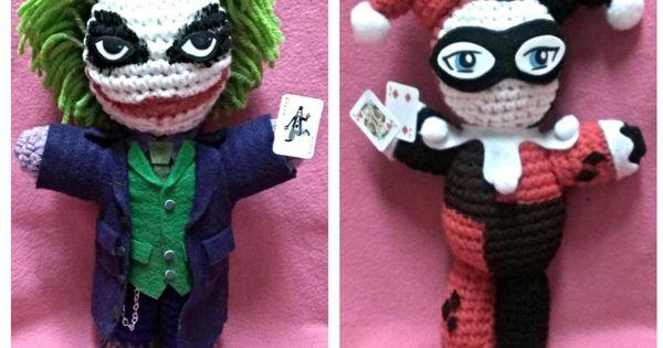 Harley Quinn and Joker by NerdDollz. Inspiration Geeky ...