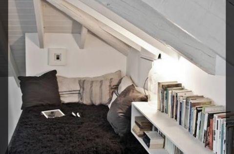 carnet d 39 inspiration combles am nag s coin lecture. Black Bedroom Furniture Sets. Home Design Ideas