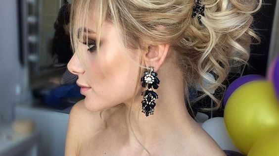 18 Elegant Hairstyles for Prom: Best Prom Hair Styles 2017