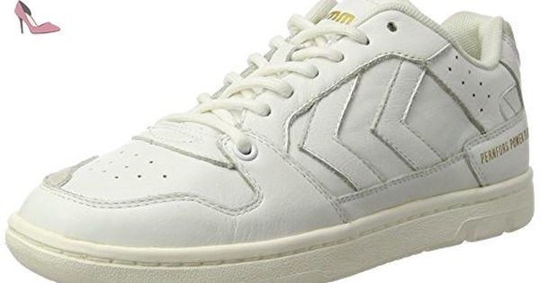 Deuce Court Tonal, Sneakers Basses Mixte Adulte, Noir (Black), 36 EUHummel