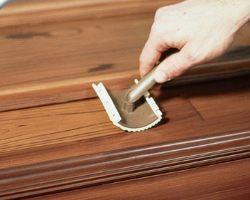 Using An Old Master Wood Graining Tool Rocker Style Faux Wood Paint Painting Metal Doors Paint Steel Door