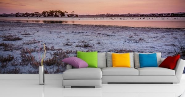 Wall mural of pandora pond hawkes bay photo by simon for Bay view wall mural