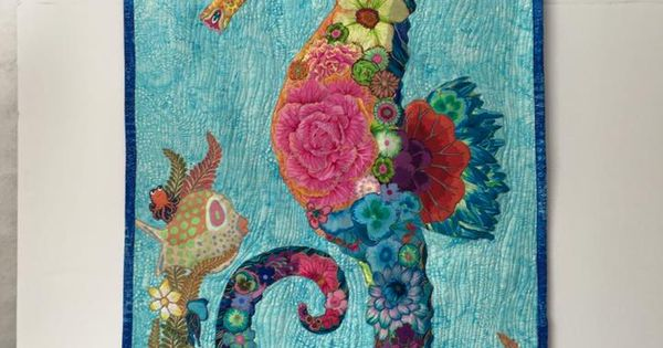 A Lovely No Name Seahorse By Sherry Brown Quilting