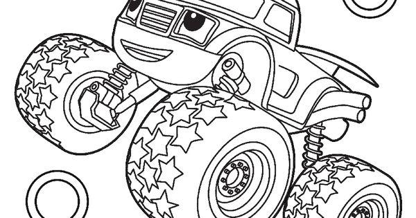 Desenho Do Blaze Monster Machine Para Colorir Melhores