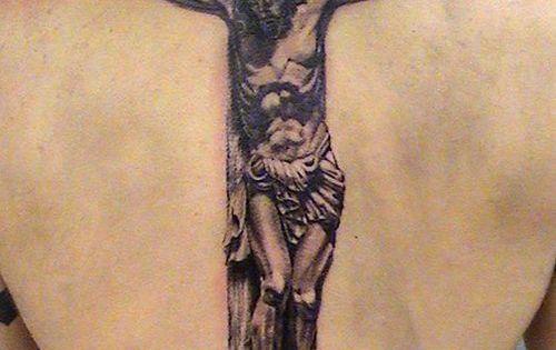 50 creative cross tattoo designs cross tattoo designs for Old rugged cross tattoo designs