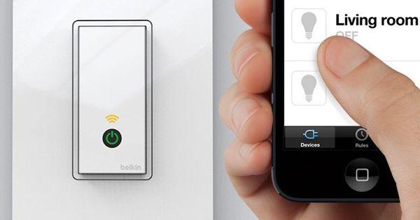 Wi Fi Light Switch by WeMo Wi Fi Light Switch By WeMo