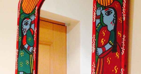 Mother 39 s day special handpainted mirror india nepal for Home decor nepal