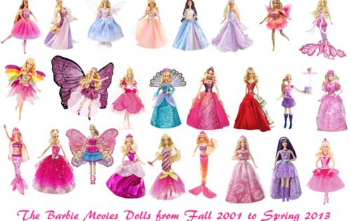 Photo Of All The Bms Dolls For Fans Of Barbie Movies Just