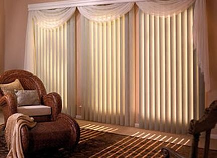 Manual vertical blinds curtain from home Home decorators vertical blinds