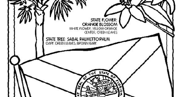 Florida coloring page Social Stu s