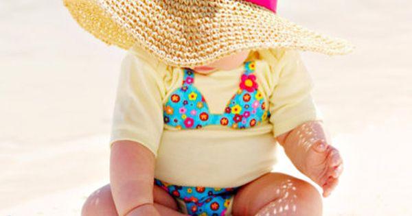 cute baby bikini onsies