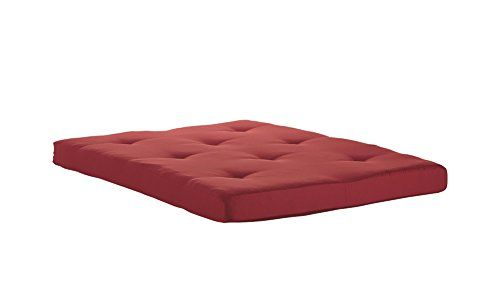 Dhp Value 6 Inch Polyester Futon Mattress Soft Modern