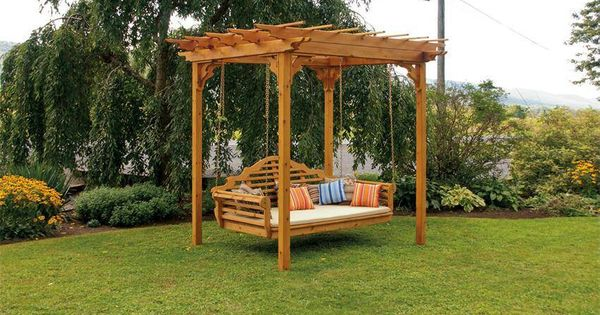 Pagoda With Hanging Daybed Size Swing Great Outdoors