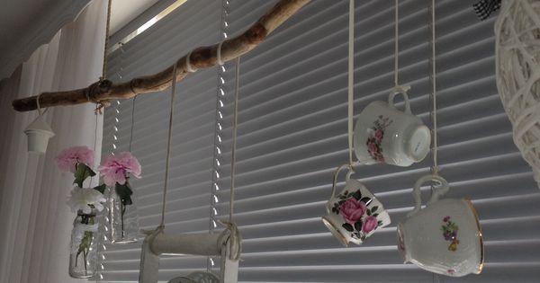 Decoratie voor het raam decoratie voor raam pinterest for Takken decoratie voor het raam