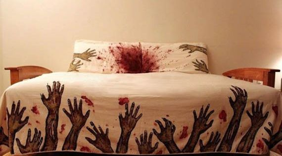 zombie Bed Sheets by Melissa Christie Sweet Dreams!