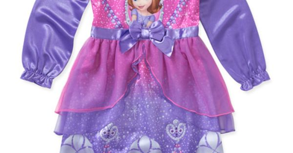 Disney Baby Girls Princess Sofia Dress Up Nightgown Baby
