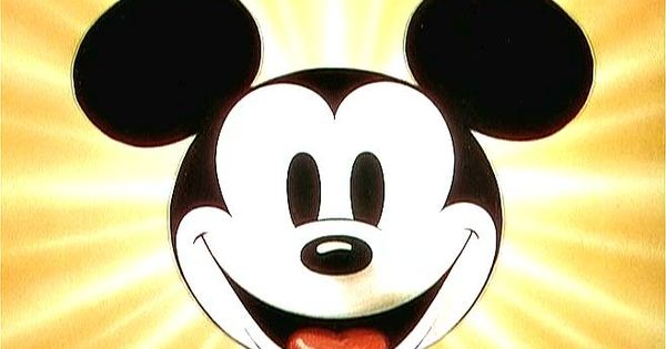 Vintage Mickey Mouse cartoon wallpaper