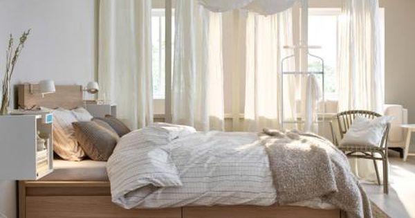 Bett Malm Von Ikea Schlafzimmer Gestalten Schlafzimmer Einrichten Wohnen