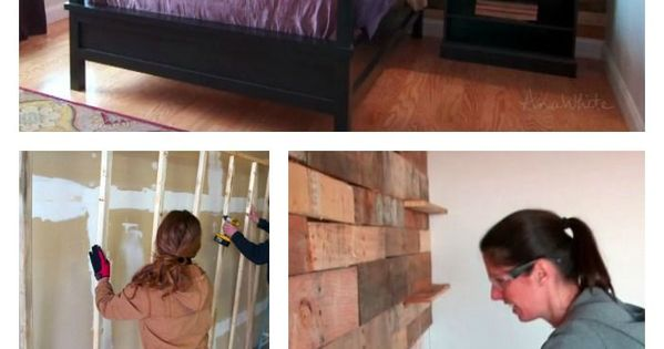 Houten wanden, Palleten and Accent muren on Pinterest