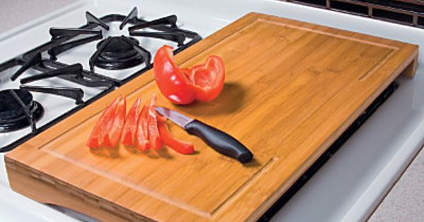 Bamboo Over Sink Cutting Board Kitchen Ideas Counter