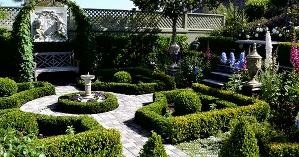 Formal english garden design informal english garden for Formal english garden designs