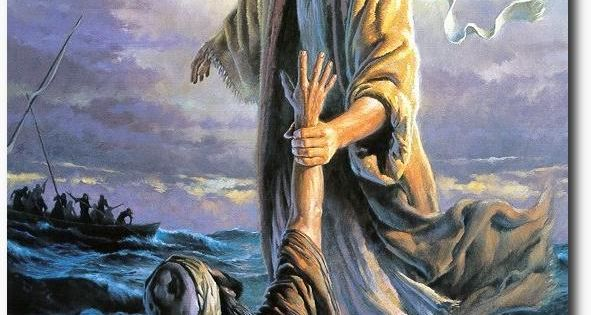 Images LDS Jesus Christ   Jesus Christ Walking On Water ...
