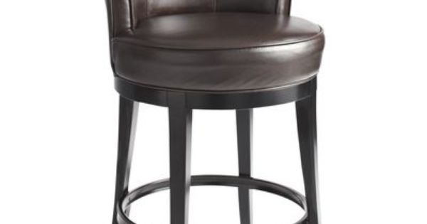 Brown Swivel Counter Stool Bar Brown And Leather Stool