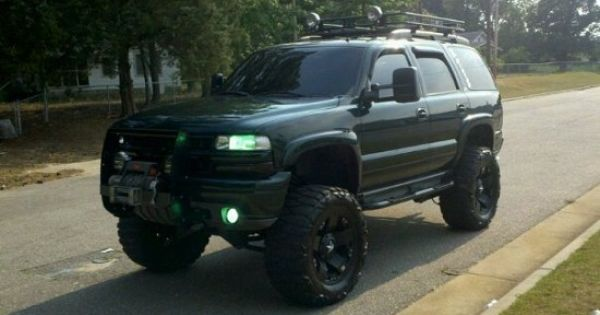 jacked up tahoe(: | Cars/trucks | Pinterest | 4x4, Chevy ...