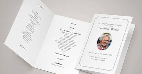 Image Result For Funeral Templates For Catholic Mass Funeral Order Of Service Funeral Templates Order Of Service Template