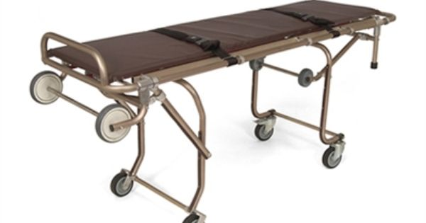 Oversize Single Person Mortuary Cot By Junkin Safety