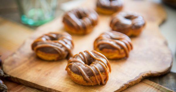 Pumpkin Spiced Donuts  Recipe