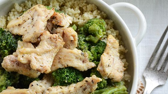 Chicken & Broccoli Lunch Bowl in 10 Minutes by anediblemosaic Lunch_Bowl Chicken