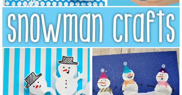 snowman crafts challenge snowman crafts challenge for therapy and crafts 2962