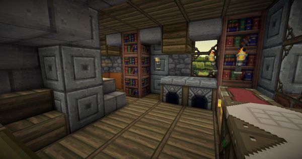 Minecraft Medieval House Interior Inspiration Ideas 53135