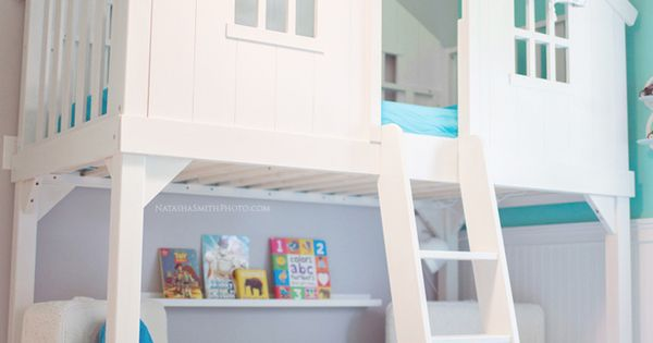 Totally Kids Totally Bedrooms: Tree House Bed Via House Of Turquoise And Other Totally