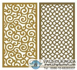 Decorative Sheet Metal Panels Perforated Decorative Panels