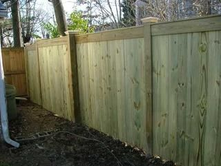 Pressure Treated Pine Privacy Wood Fence Design Fence Design Fence